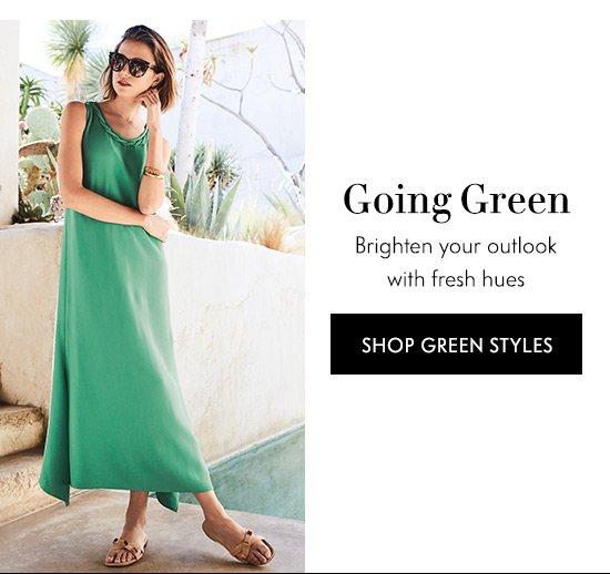 Shop Green Styles