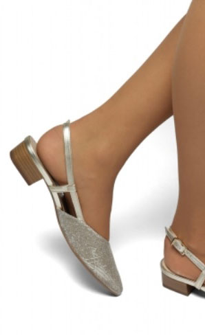 727858f81d9 Peter Kaiser Mailin Dressy Mid Heel Slingback in Notte Sarto