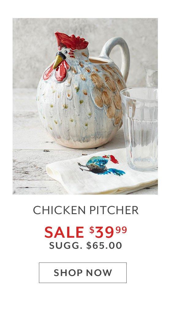 Chicken Pitcher