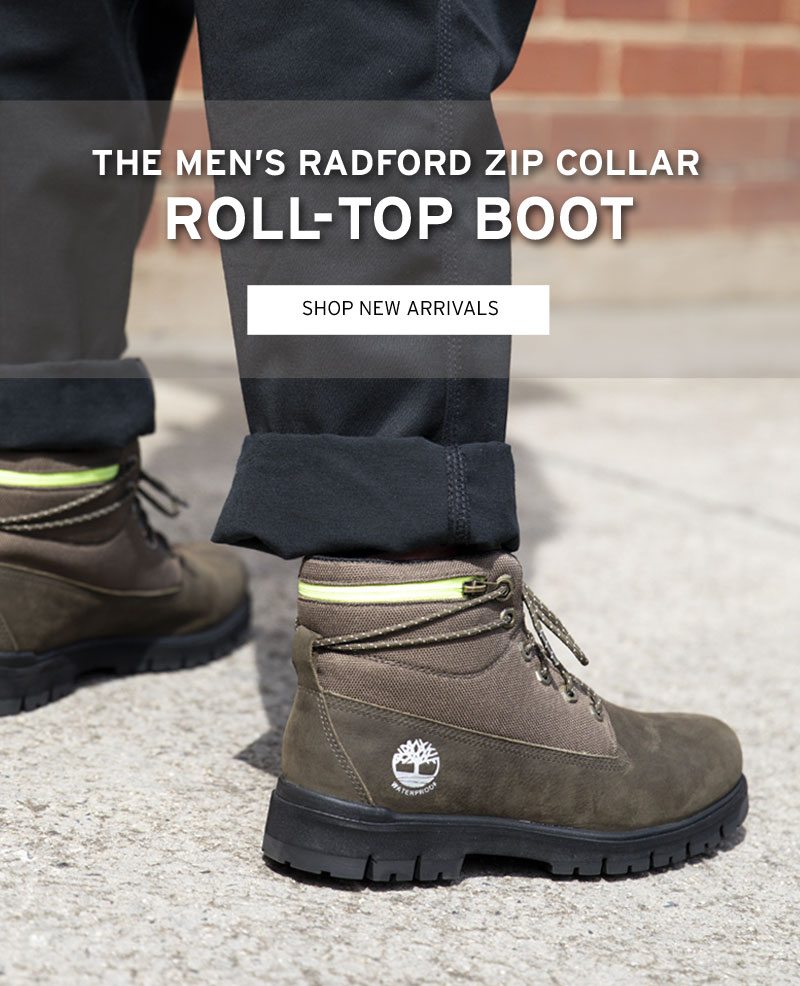 Timberland AU: The Men's Radford Roll Top: Outdoor style at