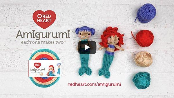 Amazon.com: Red Heart Knitting Yarn Amigurumi Elephant 3-Skein ... | 338x600