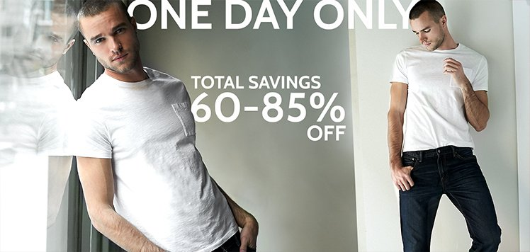 Extra Discount on Men's Deals