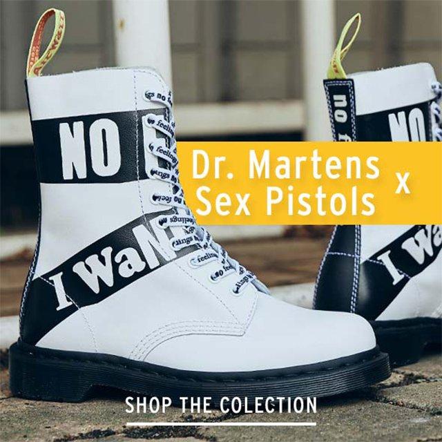 Tower London: PuNk M3ets PuNk. The Dr. Martens x Sex Pistols ...