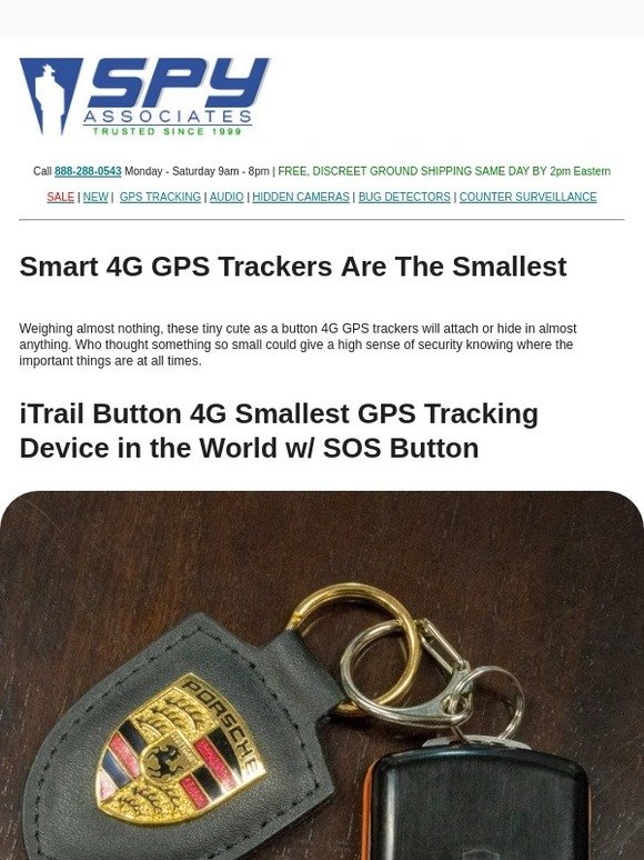SpyAssociates com: These 2 New Tiny 4G GPS Trackers Are