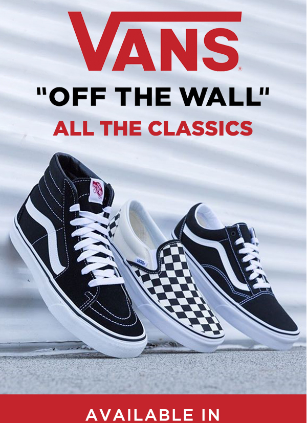 coupon vans off the wall