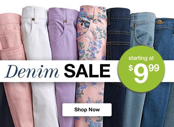 Shop Denim Sale!