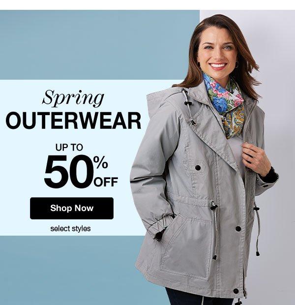 Shop Outerwear!
