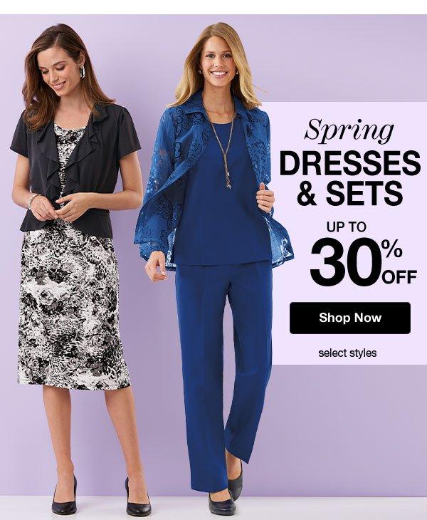 Shop Dresses & Sets!