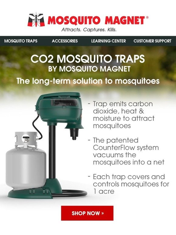 MosquitoMagnet: Mosquito Magnet: Mosquito elimination