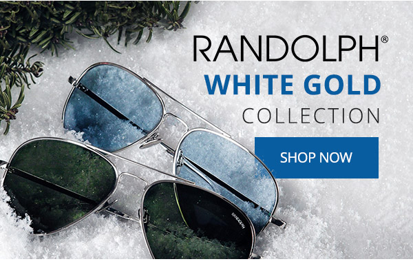7d1df6f640 Flight Store  Randolph Sunglasses - Introducing the White Gold ...