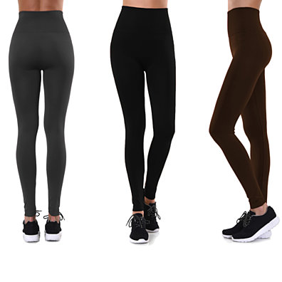 High-Waisted Premium Quality Fleece Lined Leggings (S-4X)