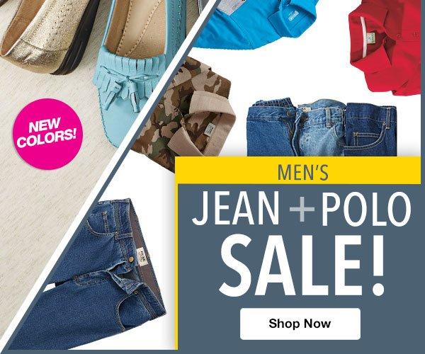 Shop Men's Jean & Polo Sale!