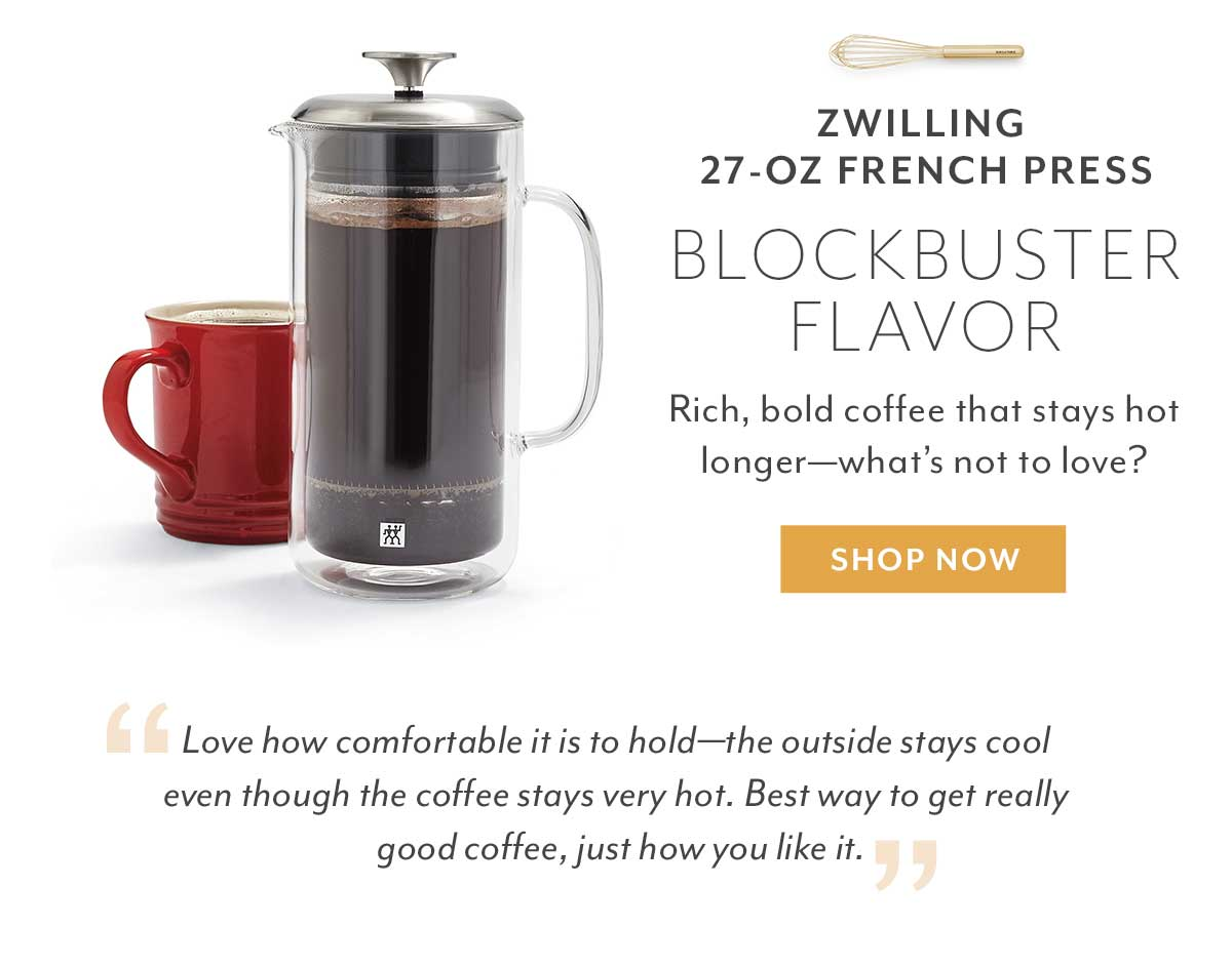 Zwilling Double Wall French Press
