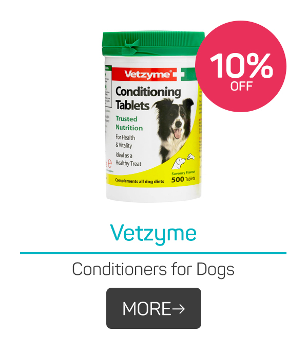 Vetzyme Conditioners for Dogs
