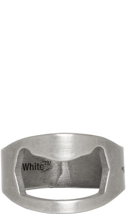 Off-White - Silver Utility Ring