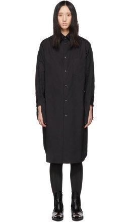 Comme des Garçons - Black Shirt Dress