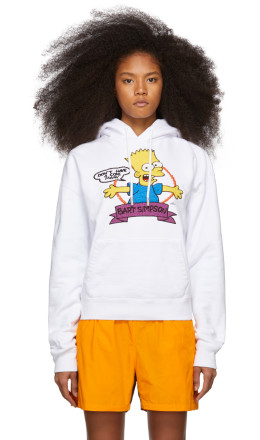 Off-White - White Bart Over Hoodie