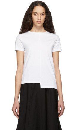 Loewe - White Asymmetric Anagram T-Shirt