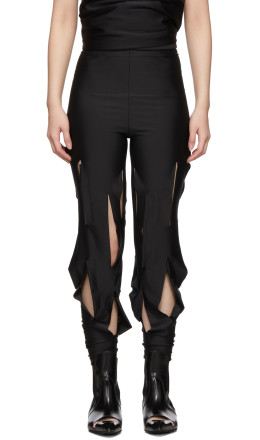 Comme des Garçons - Black Two-Way Slits Leggings
