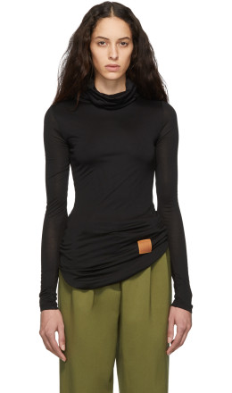 Loewe - Black High Turtleneck