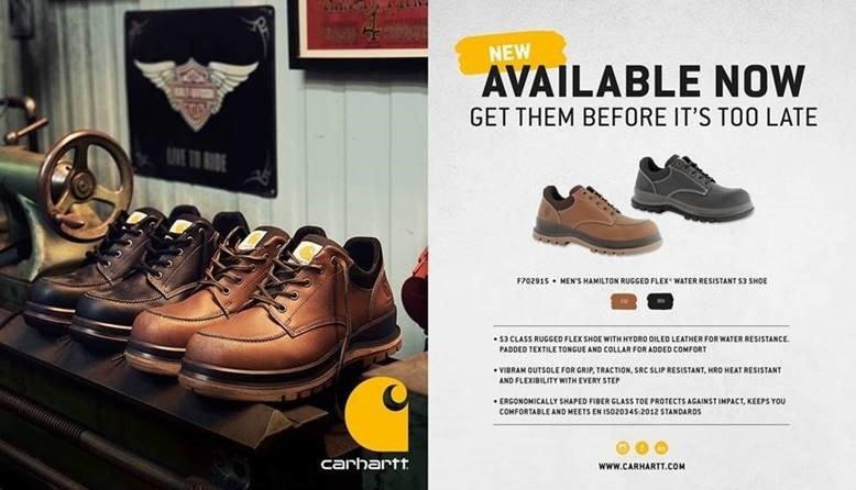 081f7011cf10 Carhartt s Hamilton S3 Water Resistant Shoe is brand new for Spring Summer  2019