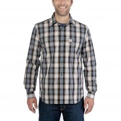 86bccc6269812b 103667 Long Sleeve Essential Open Collar Shirt Plaid. Carhartt Workwear  103667 Long Sleeve ...