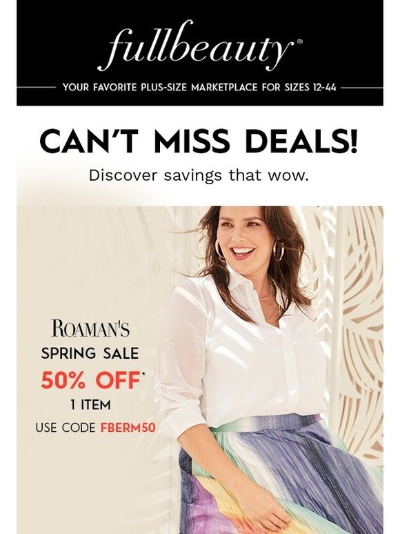 547950c8177 fullbeauty  Get Up to 50% OFF!