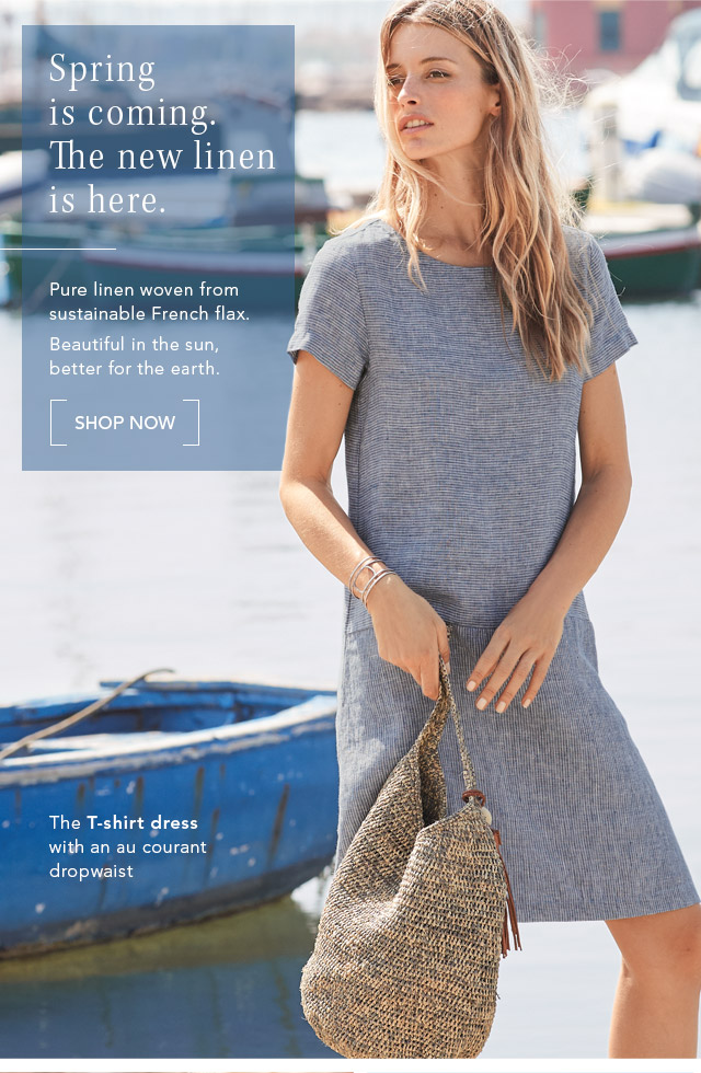 d9c9e021bdf The new linen is here. Pure linen woven from sustainable French