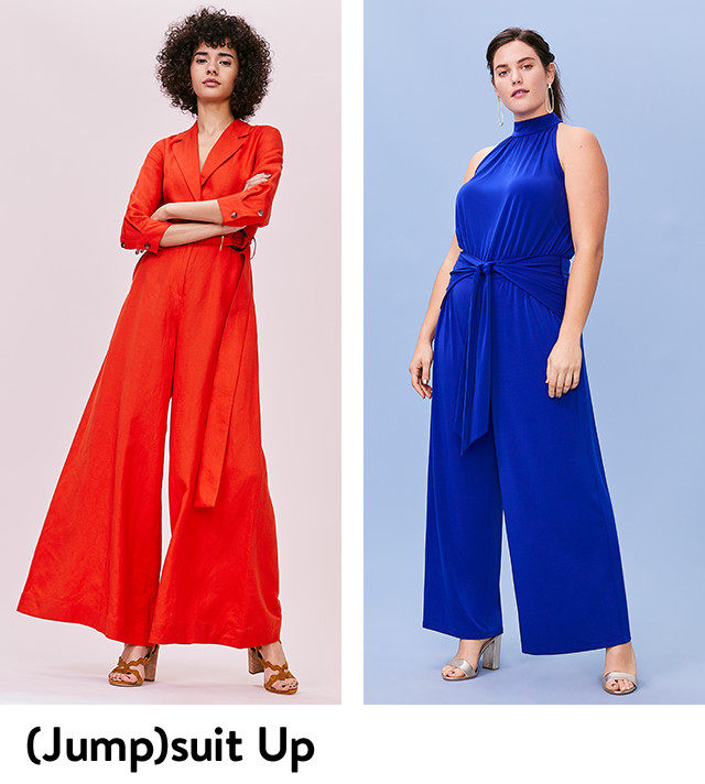 (Jump)suit up: new styles for women.