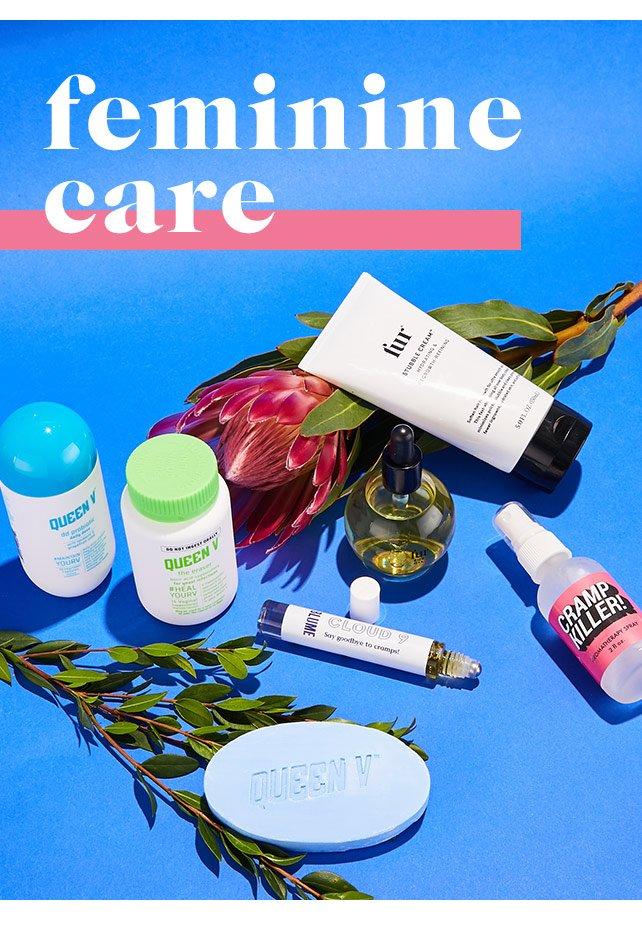 Shop Feminine Care