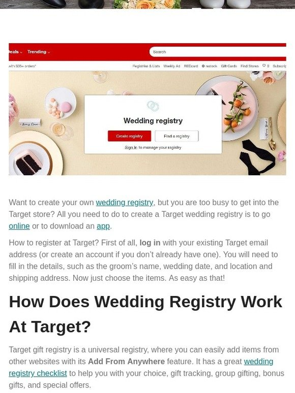 Weddingforward Posts From All You Need To Know About Target Wedding