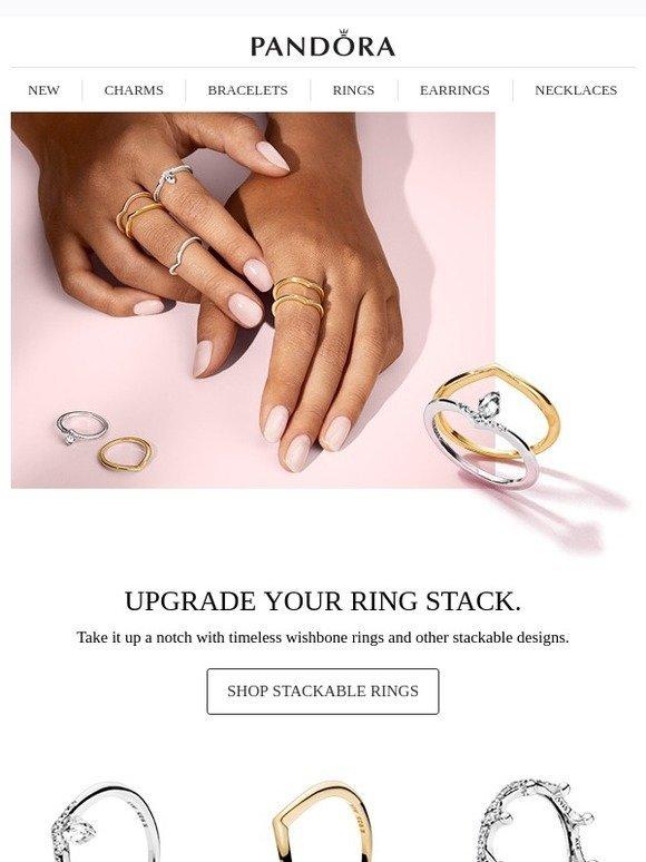 91da77453 Pandora : Nail the Perfect Ring Stack | Milled