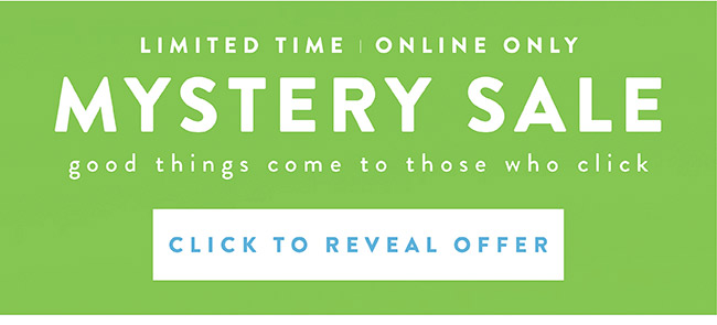 Mystery Sale - Shop Now