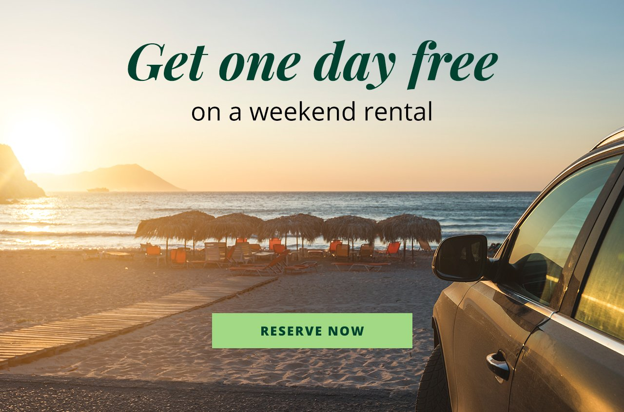 National Car Rental Usa Stretch Your Weekend Milled