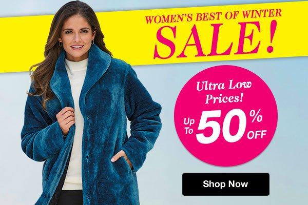 Shop Women's Best of Winter Sale!