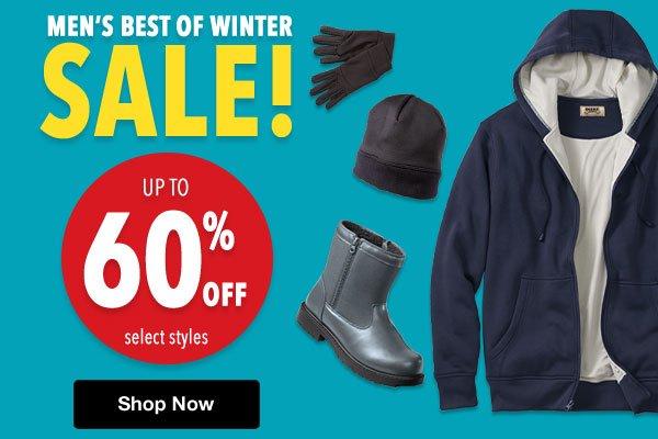 Shop Men's Best of Winter Sale!