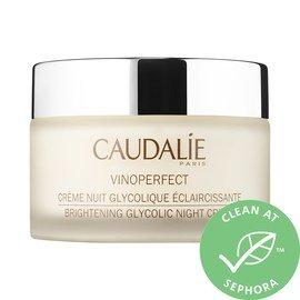 Caudalie : Vinoperfect Brightening Glycolic Overnight Cream : Moisturizers