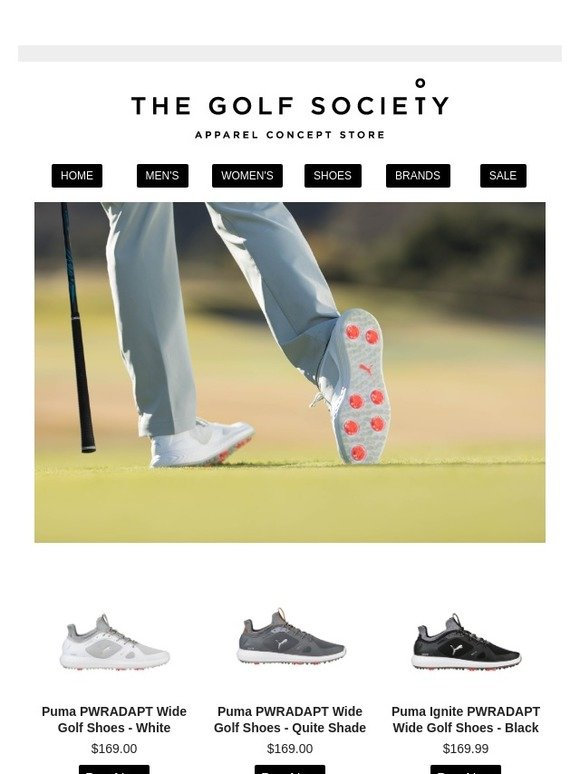 The Golf Society Golf Shoes On Sale Milled