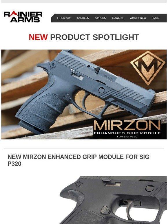 Rainier Arms: First Sig P320 Aftermarket Grip Module | Milled