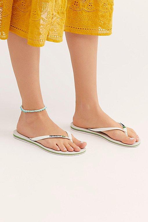 Olivia Dar Mini Beaded Anklet
