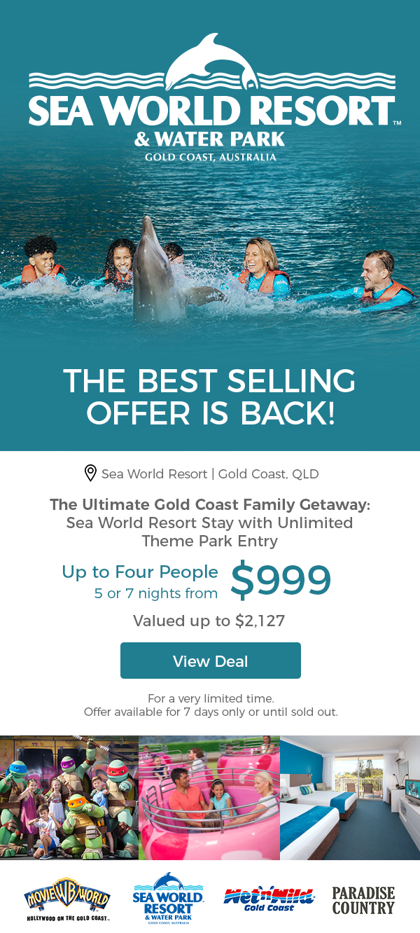 Scoopon The Ultimate Sea World Resort Getaway W Unlimited