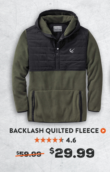 Backlash Quilted Fleece