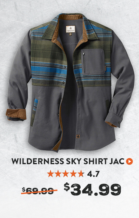 Wilderness Sky Shirt Jacket