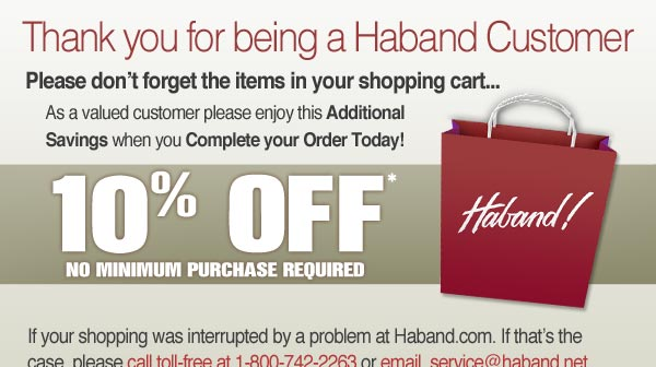 Complete your order and enjoy 10% OFF*