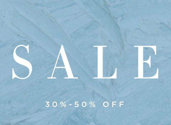 SALE 30%-50% Off