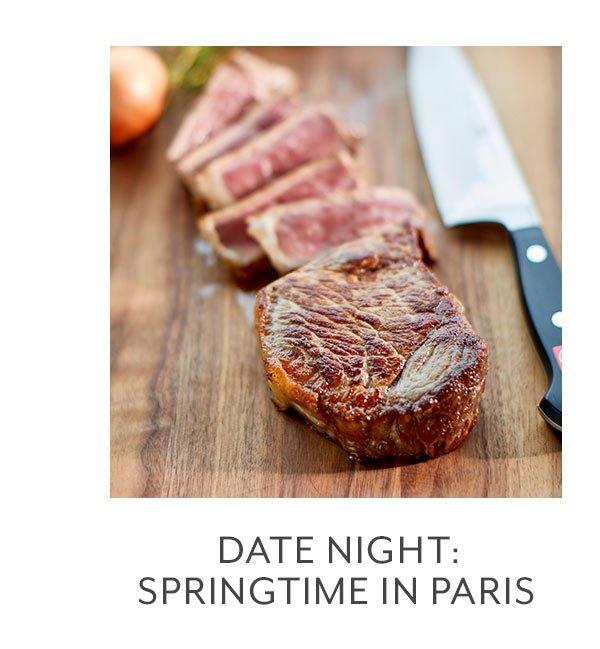 Class: Date Night • Springtime in Paris