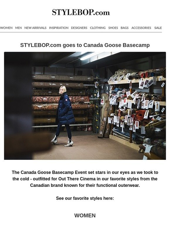 7dc77f2f7b6 stylebop IT (P): STYLEBOP.com goes to Canada Goose Basecamp | Milled
