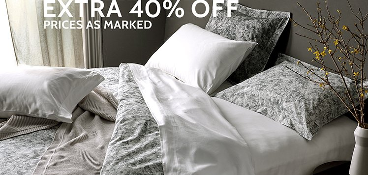 The White Sale: Bedding Issue