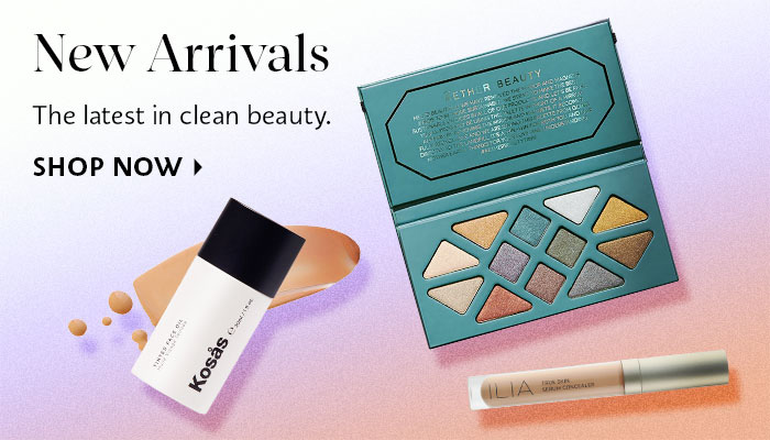 New Arrivals Clean Beauty