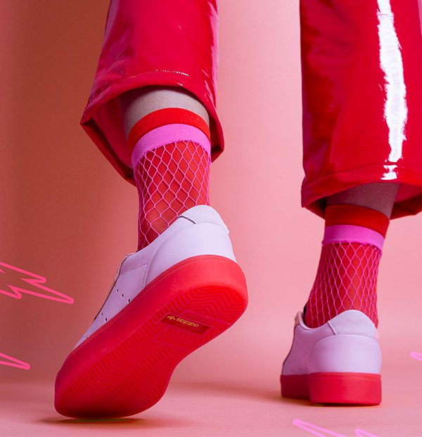 the latest 8d2f2 3a7cc adidas-sleek-w-pink-trainers